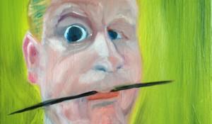 zelfportret groen