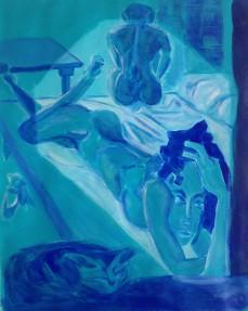 vrouw op bed d'Orazio #1