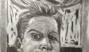 Zelfportret onderlip [W1T1]